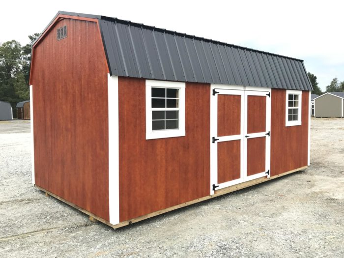 FB FISHER BARNS X DUTCHBARN MAHOGANY WHITE BLACK Outside Photo