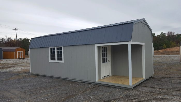 FB FISHER BARNS X CABIN LT GREY WHITE SLATE GREY Outside Photo Nov