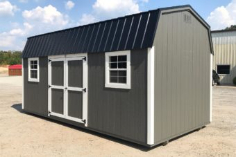 FB FISHER BARNS X DUTCHBARN CHARCOAL GREY WHITE BLACK Outside Photo