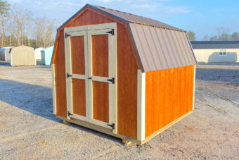 FB FISHER BARNS X MINI BARN MAHOGANY BEIGE ANT BRONZE Outside Photo