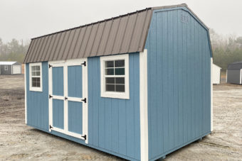 FB FISHER BARNS X DUTCHBARN BLUE WHITE ANTIQUE BRONZE Outside Photo
