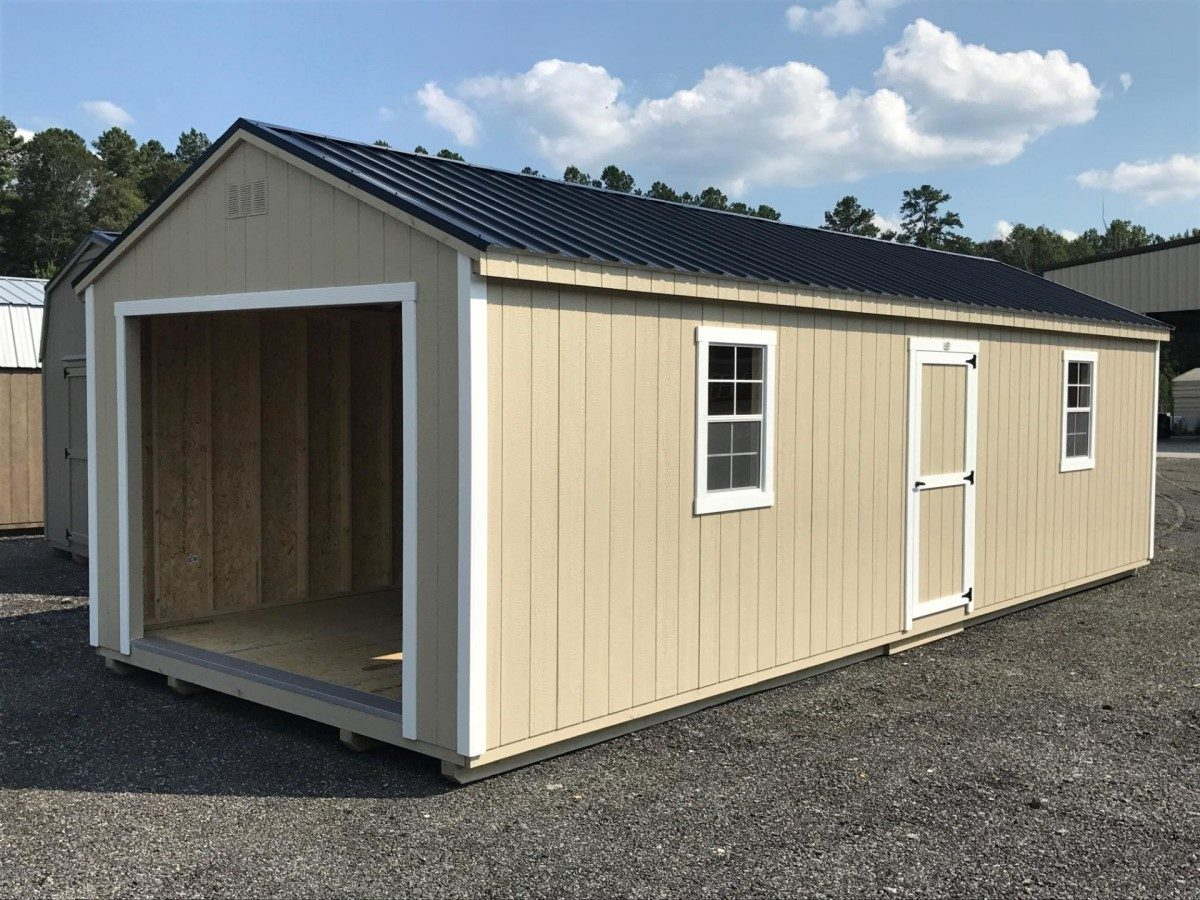 custom portable garage