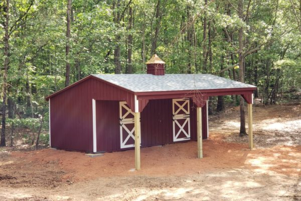 lean to horse shed for sale in south carolina