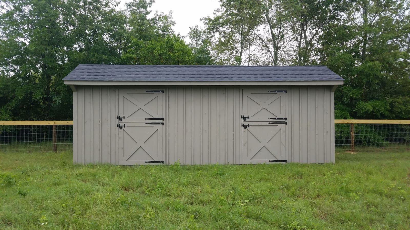 Shed Row Horse Shed Quality Horse Shed Fisher Barns