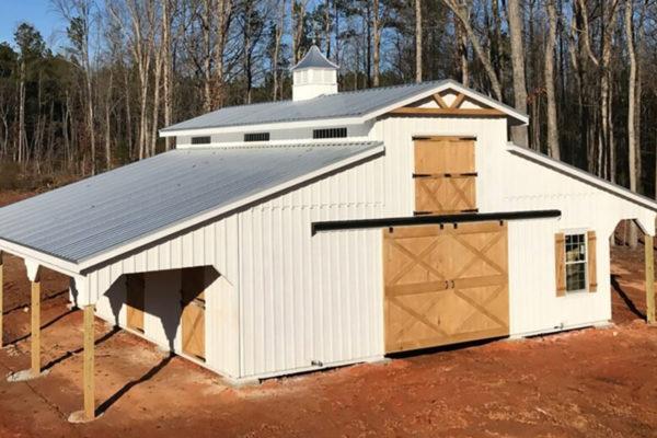lancaster horse barn for sale in abbeville sc