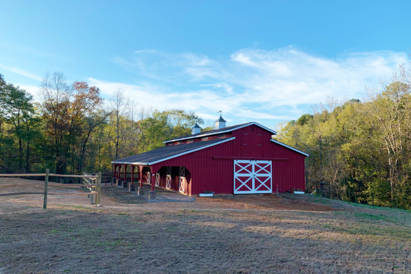 lancaster horse barn for sale in johnson city