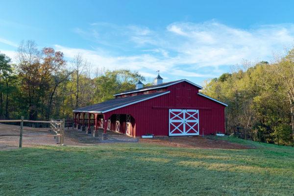 horse barns in asheville
