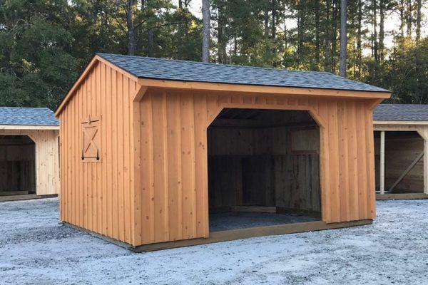 run in horse barn in asheville