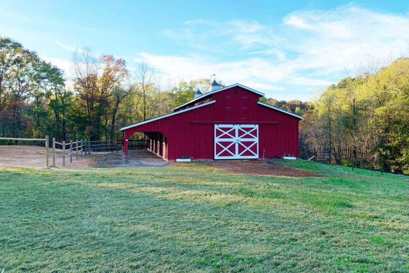 lancaster horse barns for sale