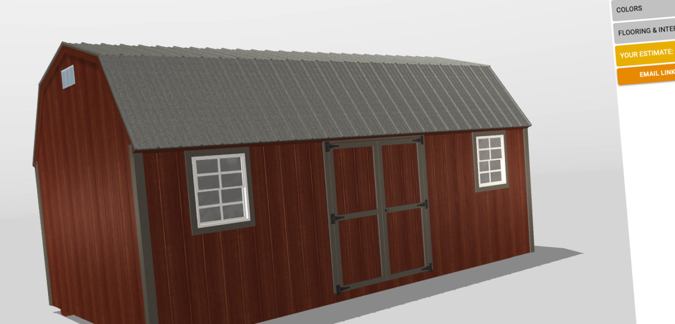 fisher barns d shed builder