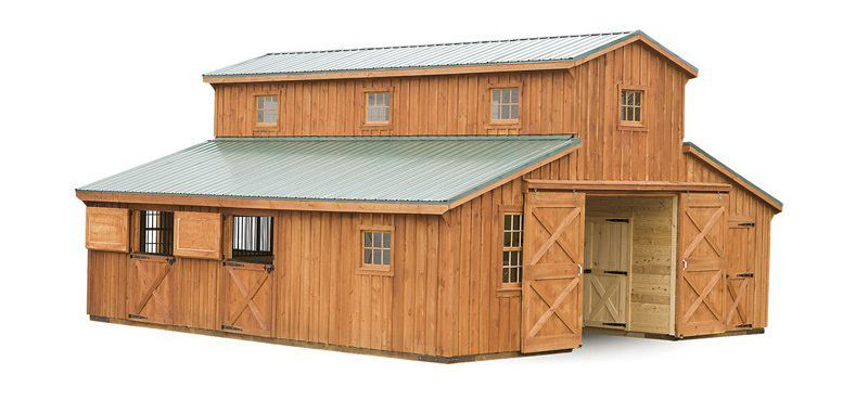 monitor horse barn for sale