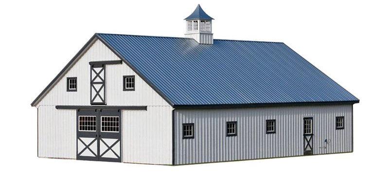 high country horse barn