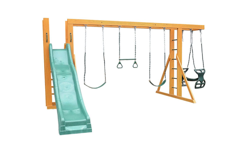 kids playsets free standing jungle gym n slide