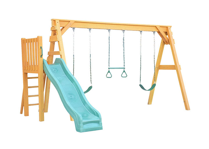 kids playsets free standing position a frame swing n slide